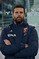 30th October 2019; Allianz Stadium, Turin, Italy; Serie A Football, Juventus versus Genoa; Thiago Motta, the coach of Genoa FC - Editorial Use