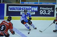 IJSHOCKEY: HEERENVEEN: 27-09-2013, IJsstadion Thialf, oefenwedstrijd UNIS Flyers- Neusser EV, ©foto Martin de Jong