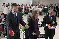 Spanish Royals King Felipe VI of Spain and Queen Letizia of Spain visit  the Paraplegic Hospital in Toledo, Spain. February 10, 2015. (ALTERPHOTOS/Victor Blanco) /NORTEphoto.com