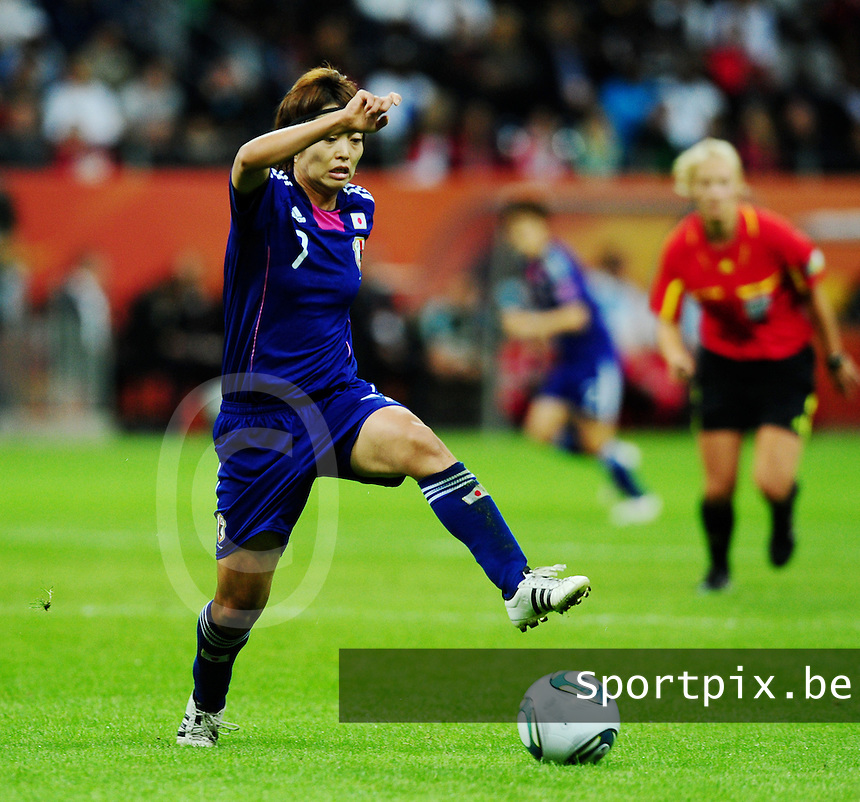Fifa Women's World Cup Germany 2011 : Japan - USA  at Commerzbank Arena Frankfurt : Kozue Ando.foto DAVID CATRY / Vrouwenteam.be