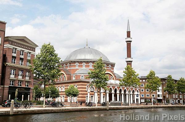 Nederland Amsterdam 2017 . De Westermoskee in stadsdeel de Baarsjes. Foto Berlinda van Dam / Hollandse Hoogte