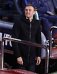 04.03.2017 Barcelona. La Liga game 26. Picture show Luis Enrique in action during game between FC Barcelona against Celta at Camop Nou