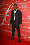 Dwayne Wade, NBA Basketball player for the Cleveland Cavaliers arrives at The Fashion Group International's Night of Stars 2017 gala at Cipriani Wall Street on October 26, 2017.