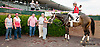 Tracey's Smile winning at Delaware Park on 7/31/13