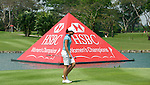 SINGAPORE - MARCH 08:  Lorena Ochoa of Mexico on the par four 18th hole during the final round of HSBC Women's Champions at the Tanah Merah Country Club on March 8, 2009 in Singapore. Photo by Victor Fraile / The Power of Sport Images