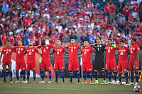 Photo before the match Chile vs Panama, Corresponding to Group -D- America Cup Centenary 2016 at Lincoln Financial Field.<br /> <br /> Foto previo al partido Chile vs Panama, Correspondiente al Grupo -D- de la Copa America Centenario 2016 en el  Lincoln Financial Field, en la foto: Seleccion de Chile<br /> <br /> <br /> 14/06/2016/MEXSPORT/Javier Ramirez.