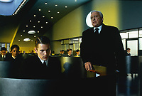 Gattaca (1997) <br /> Ethan Hawke &amp; Gore Vidal<br /> *Filmstill - Editorial Use Only*<br /> CAP/KFS<br /> Image supplied by Capital Pictures
