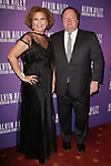 """Debra L. Lee - CEO of BET and Bob Bakish CEO of Viacom arrive at the Alvin Ailey American Dance Theater """"Modern American Songbook"""" opening night gala benefit at the New York City Center on November 29, 2017."""