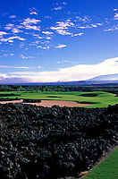 Hualalai Resort, No. 12, Big Island, Hawaii.  Architect: Jack Nicklaus