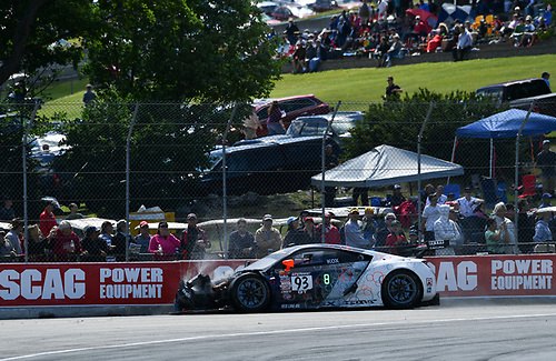 Pirelli World Challenge<br /> Grand Prix of Road America<br /> Road America, Elkhart Lake, WI USA<br /> Sunday 25 June 2017<br /> Peter Kox<br /> World Copyright: Richard Dole/LAT Images<br /> ref: Digital Image RD_USA_00316