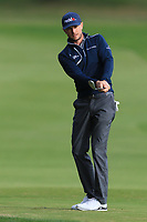 Laurie Canter (ENG) on the 7th fairway during Round 2 of the Challenge Tour Grand Final 2019 at Club de Golf Alcanada, Port d'Alcúdia, Mallorca, Spain on Friday 8th November 2019.<br /> Picture:  Thos Caffrey / Golffile<br /> <br /> All photo usage must carry mandatory copyright credit (© Golffile | Thos Caffrey)