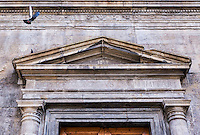 Carpere promptius quam imitari, It is easier to criticise than to imitate, Inscription, Palazzo Bartolini Salimbeni, Florence, Italy