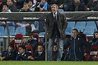 21.12.2012 SPAIN -  La Liga 12/13 Matchday 17th  match played between Atletico de Madrid vs Celta de Vigo (1-0) at Vicente Calderon stadium. The picture show