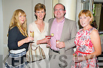 Pictured at the Killarney Races apre?s party in The Malton hotel, Killarney on Thursday were Caroline Hennigan, Eavan and Padraig O'Brien and Mary O'Rourke, Killarney.