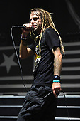 WEST PALM BEACH, FL - MAY 11: Randy Blythe of Lamb Of God performs at The Coral Sky Amphitheatre on May 11, 2019 in West Palm Beach Florida. Credit Larry Marano © 2019