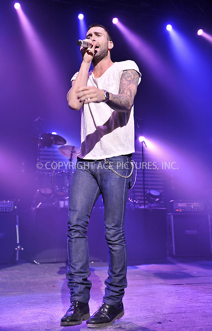 WWW.ACEPIXS.COM . . . . .  ..... . . . . US SALES ONLY . . . . .....February 17 2011, London....Adam Levine and Maroon 5 live at the Brixton Academy on February 17 2011 in London....Please byline: FAMOUS-ACE PICTURES... . . . .  ....Ace Pictures, Inc:  ..Tel: (212) 243-8787..e-mail: info@acepixs.com..web: http://www.acepixs.com