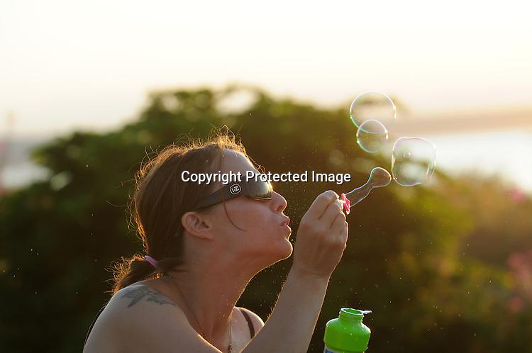 For the Enterprise/Daniel Berman..Feature photos of Maya Petosa at Edmonds Beach July 31, 2009...Edmonds, WA