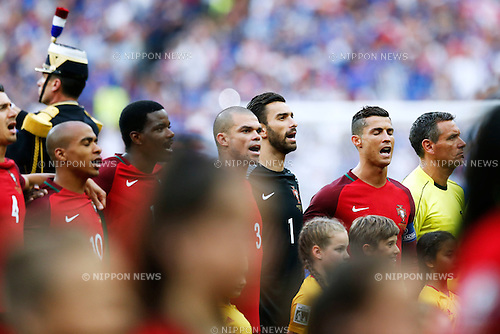 Cristiano Ronaldo (POR), JULY 10, 2016 - Football / Soccer : UEFA EURO 2016 Final match between Portugal 1-0 France at Stade de France in Saint-Denis, France. (Photo by D.Nakashima/AFLO)