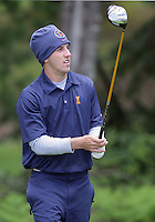 22 May, 2010:   Illinois Zack Barlow sets up to tee off on hole four during day three of the NCAA West Regional First Round at Gold Mountain Golf Course in Bremerton, Washington.