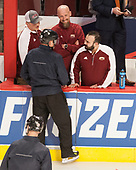 - The University of Denver Pioneers defeated the University of Minnesota Duluth Bulldogs 3-2 to win the national championship on Saturday, April 8, 2017, at the United Center in Chicago, Illinois.