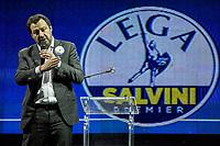 "01.03.2018  - Lega Event At EUR With Matteo Salvini: ""Prima Gli Italiani"""