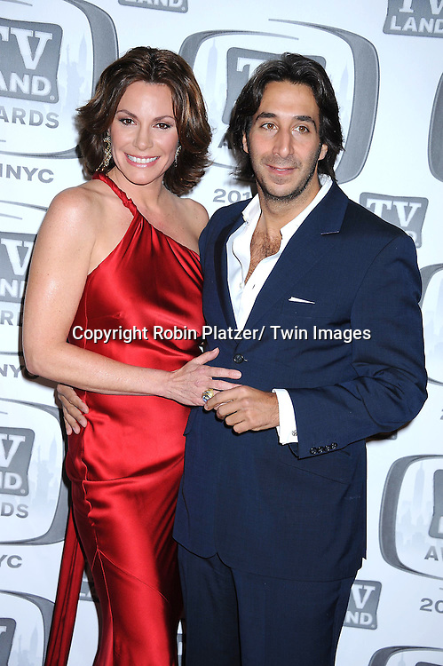 aLuAnn de Lesseps and boyfriend Jacques Azoulay ttending The TV Land Awards 2011 .on April 10, 2011 at the Jacob Javits Center in New York City.
