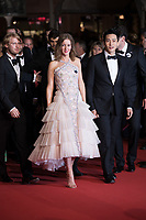 CANNES, FRANCE - May 09 2018: Ilya Stewart, Irina Starshenbaum, Teo Yoo attend the screening of 'Leto' during the 71st annual Cannes Film Festival at Palais des Festivals on May 9, 2018 in Cannes, France.<br /> Picture: Kristina Afanasyeva/Featureflash/SilverHub 0208 004 5359 sales@silverhubmedia.com