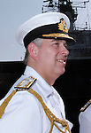 "PRINCE ANDREW.The Indian flag flutters as Prince Andrew tours the Indian aircraft carrier INS Viraat (formally HMS Hermes on which his brother Prince Charles had served in the capacity of British naval officer), in Mumbai, India_May 2, 2012. .The Duke of York, who is representing Queen Elizabeth II in the year of her Diamond Jubilee is on a week long tour of India..Mandatory Credit Photo: ©Sherwin Crasto-Solaris/NEWSPIX INTERNATIONAL..(Failure to credit will incur a surcharge of 100% of reproduction fees)..                **ALL FEES PAYABLE TO: ""NEWSPIX INTERNATIONAL""**..IMMEDIATE CONFIRMATION OF USAGE REQUIRED:.Newspix International, 31 Chinnery Hill, Bishop's Stortford, ENGLAND CM23 3PS.Tel:+441279 324672  ; Fax: +441279656877.Mobile:  07775681153.e-mail: info@newspixinternational.co.uk"