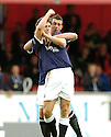 12/05/2007       Copyright Pic: James Stewart.File Name : sct_jspa08_falkirk_v_dundee_utd.ALAN GOW CELEBRATES AFTER HE SCORES FALKIRK'S SECOND....James Stewart Photo Agency 19 Carronlea Drive, Falkirk. FK2 8DN      Vat Reg No. 607 6932 25.Office     : +44 (0)1324 570906     .Mobile   : +44 (0)7721 416997.Fax         : +44 (0)1324 570906.E-mail  :  jim@jspa.co.uk.If you require further information then contact Jim Stewart on any of the numbers above.........