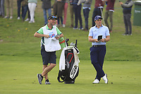 Paul Dunne (IRL) on the 16th fairway during Round 4 of the Open de Espana 2018 at Centro Nacional de Golf on Sunday 15th April 2018.<br /> Picture:  Thos Caffrey / www.golffile.ie<br /> <br /> All photo usage must carry mandatory copyright credit (&copy; Golffile | Thos Caffrey)
