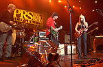 "Paul Reed Smith,Carlos Santana & Orianthi {who appears in Michael Jackson's ""This is It"" } performs live at The Paul Reed Smith's 20th Anniversary Concert held at The Grove of  Anaheim,in Anaheim,California on January 21,2005. Copyright 2005 by DVS / RockinExposures"