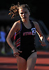 Reilly Siebert of Syosset legs out a victory in the Division 1 girls 800 meter race during Day 1 of the Nassau County track & field individual championships and state qualifiers at North Shore High School in Glen Head on Wednesday, May 30, 2018.