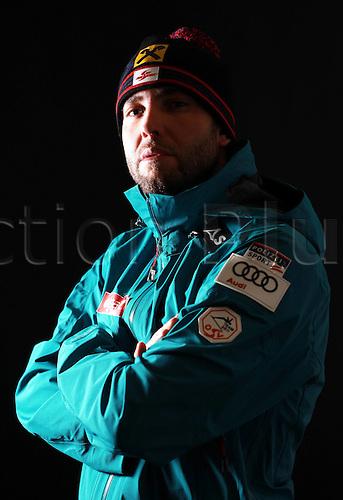 16.10.2010  Winter sports OSV Einkleidung Innsbruck Austria. Snowboarding OSV Austrian Ski Federation. Einkleidung men Photo call Picture shows Andreas Prommegger AUT