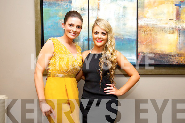 Maura O'Connor and  Mackenzie Keane enjoying the Kerins O'Rahilly Social at Ballyroe Heights Hotel on Saturday