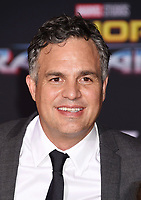 LOS ANGELES, CA - OCTOBER 10: Actor Mark Ruffalo arrives at the premiere of Disney and Marvel's 'Thor: Ragnarok' at the El Capitan Theatre on October 10, 2017 in Los Angeles, California.<br /> CAP/ROT/TM<br /> &copy;TM/ROT/Capital Pictures