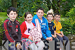 Padraig Dillion, Rachel Murphy, Tomas Griffin, Eoin Dillion and Darragh Dillion waiting for Jedward on Friday.