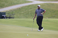 Shane Lowry (IRL) on the 3rd green during Friday's Round 2 of the 117th U.S. Open Championship 2017 held at Erin Hills, Erin, Wisconsin, USA. 16th June 2017.<br /> Picture: Eoin Clarke | Golffile<br /> <br /> <br /> All photos usage must carry mandatory copyright credit (&copy; Golffile | Eoin Clarke)