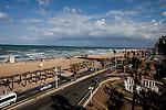 Day 10 - The Mediterranean from our hotel in Tel-Aviv (Photo by Brian Garfinkel)