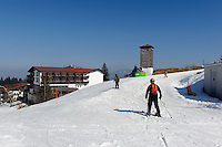 Skipiste am Ofterschwanger Horn im Allg&auml;u, Bayern, Deutschland<br /> piste at  Ofterschwanger Horn, Allg&auml;u, Bavaria, Germany