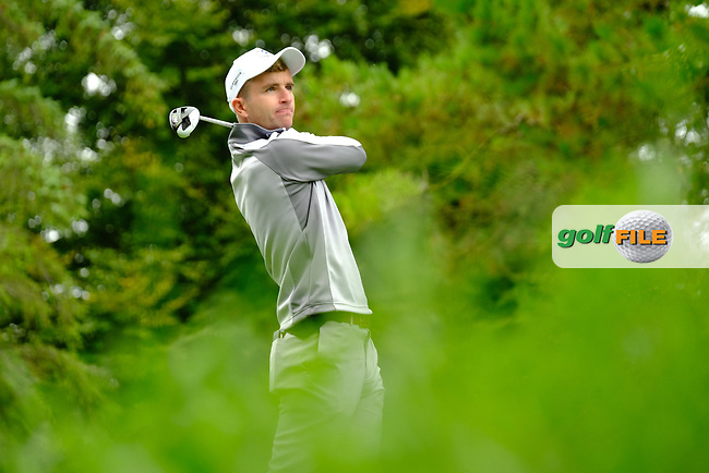Sean Flanagan (Connacht) during final day foursomes at the Interprovincial Championship 2018, Athenry golf club, Galway, Ireland. 31/08/2018.<br /> Picture Fran Caffrey / Golffile.ie<br /> <br /> All photo usage must carry mandatory copyright credit (© Golffile | Fran Caffrey)