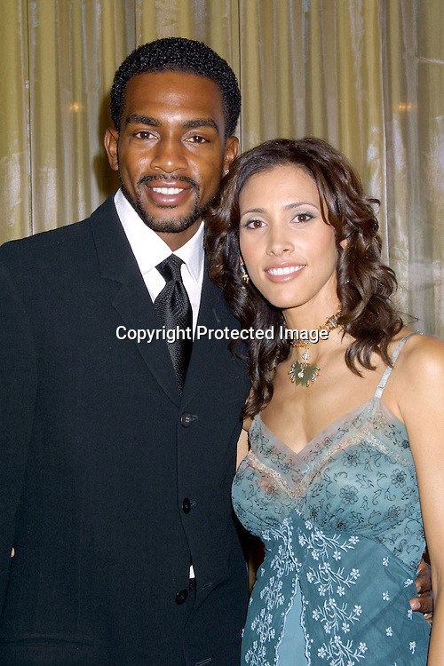 ©2002 KATHY HUTCHINS / HUTCHINS PHOTO.COOL COMEDY , HOT CUISINE.BENEFITNG THE SCHLERADERMA FOUNDATION.BEVERLY WILSHIRE HOTEL, .BEVERLY HILLS,CA.NOVEMBER 1, 2002.BILL BELLAMY, WIFE KRISTEN
