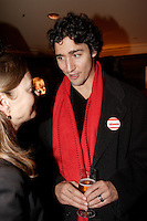 December 1st, 2006 File Photo - Montreal (Quebec) CANADA -<br /> Justin Trudeau, son of Former Prime Minister Pierre Trudeau, meet with  Ken Dryden's supporters  during his reception held on the top floor of  the Delta Hotel during the Leadership Convention in Montreal,  December 1st, 2006<br /> <br /> (c) : 2006, Images Distribution