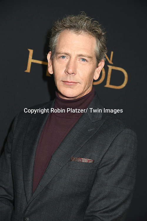 "actor Ben Mendelsohn attends the New York Special Screening of ""Robin Hood"" on November 11, 2018 at AMC Lincoln Square in New York, New York, USA.<br /> <br /> photo by Robin Platzer/Twin Images<br />  <br /> phone number 212-935-0770"