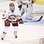 Tommy Cross (BC - 4) - The Boston College Eagles defeated the Yale University Bulldogs 9-7 in the Northeast Regional final on Sunday, March 28, 2010, at the DCU Center in Worcester, Massachusetts.