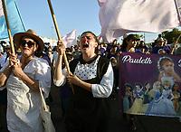 05 JUNIO DE 2019. HERMOSILLO, SONORA.<br /> MARCHA POR EL X ANIVERSARIO DE LA TRAJEDIA DEL INCENDIO DE LA GUARDERIA ABC, SONORA, MEXICO. Marcha ABC 5 jun 2019.<br /> (Fotos: NortePhoto)