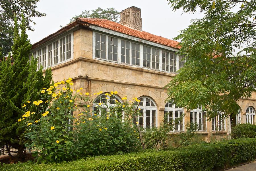 British Junior District Office In Weihai (Weihaiwei).