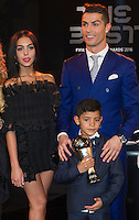 Zurigo 09-01-2017 FIFA Football Awards - Cristiano Ronaldo (POR), his son and Georgina Rodriguez during the Best FIFA Football Awards 2016 in Zurich<br /> Foto Steffen Schmidt/freshfocus/Insidefoto