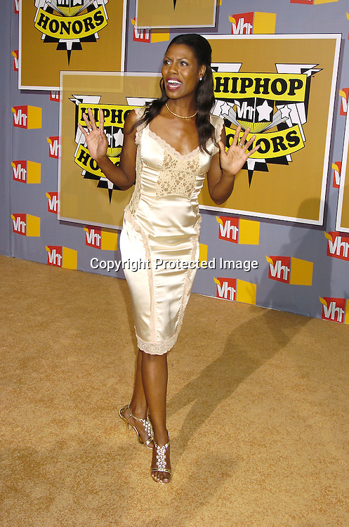 Omarosa Manigault-Stallworth ..at the 2nd Annual VH1 Hip Hop Honors taping on ..September 22, 2005 which will air on VH1 on September 26, 2005. ..Photo by Robin Platzer, Twin Images