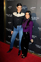 LOS ANGELES - OCT 11:  Kendall Jenner, Kourtney Kardashian at the What Goes Around Comes Around One Year Anniversary Party at the What Goes Around Comes Around Store on October 11, 2017 in Beverly Hills, CA