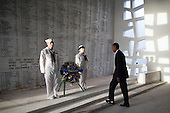United States President Barack Obama presents a wreath in the shrine room of the U.S.S. Arizona Memorial on Thursday, December 29, 2011 in Pearl Harbor, Hawaii.  .Credit: Kent Nishimura / Pool via CNP